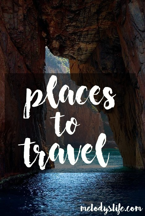 5 Places I Want To Visit! | Travel
