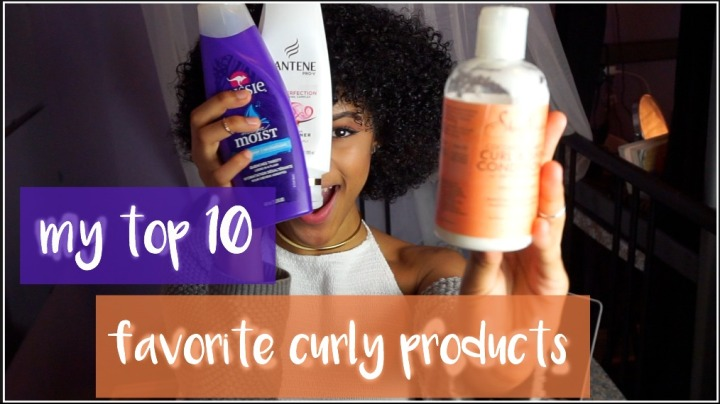 MY FAVORITE CURLY HAIR PRODUCTS |2017