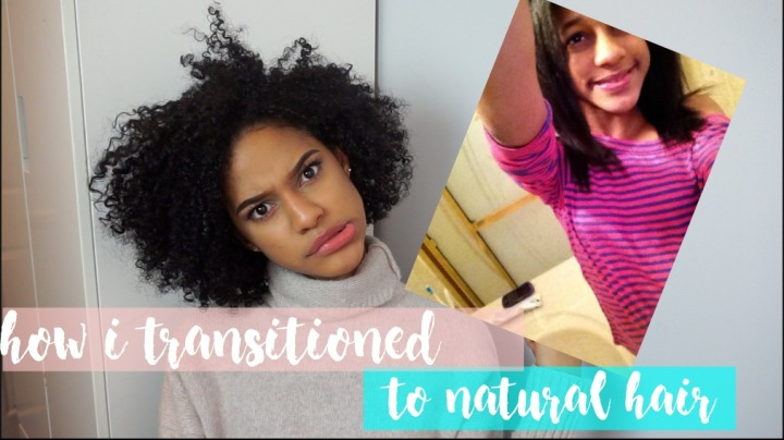 How i transitioned from relaxed to curly hair!!! (VIDEO)