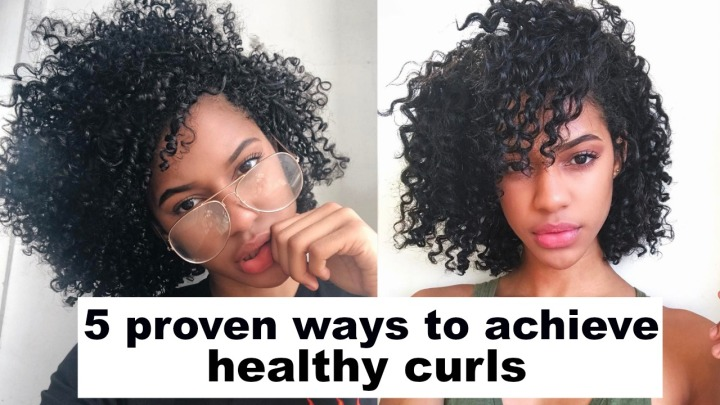 5 PROVEN WAYS TO GET YOUR CURLS HEALTHY & GROW FASTER! (VIDEO)