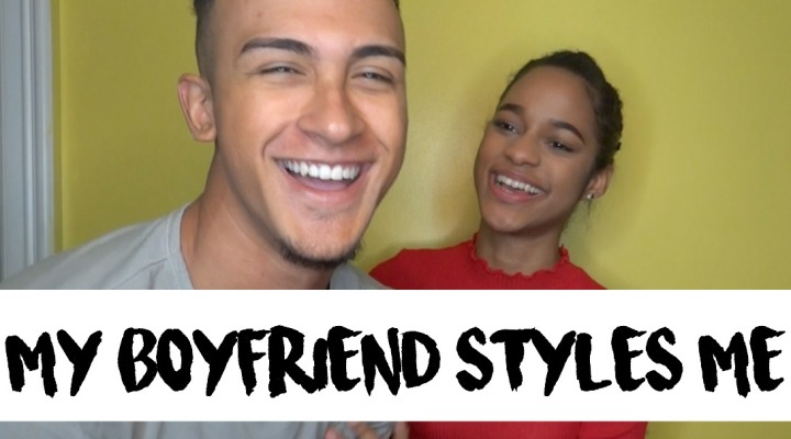 MY BOYFRIEND STYLES ME!!! | VIDEO
