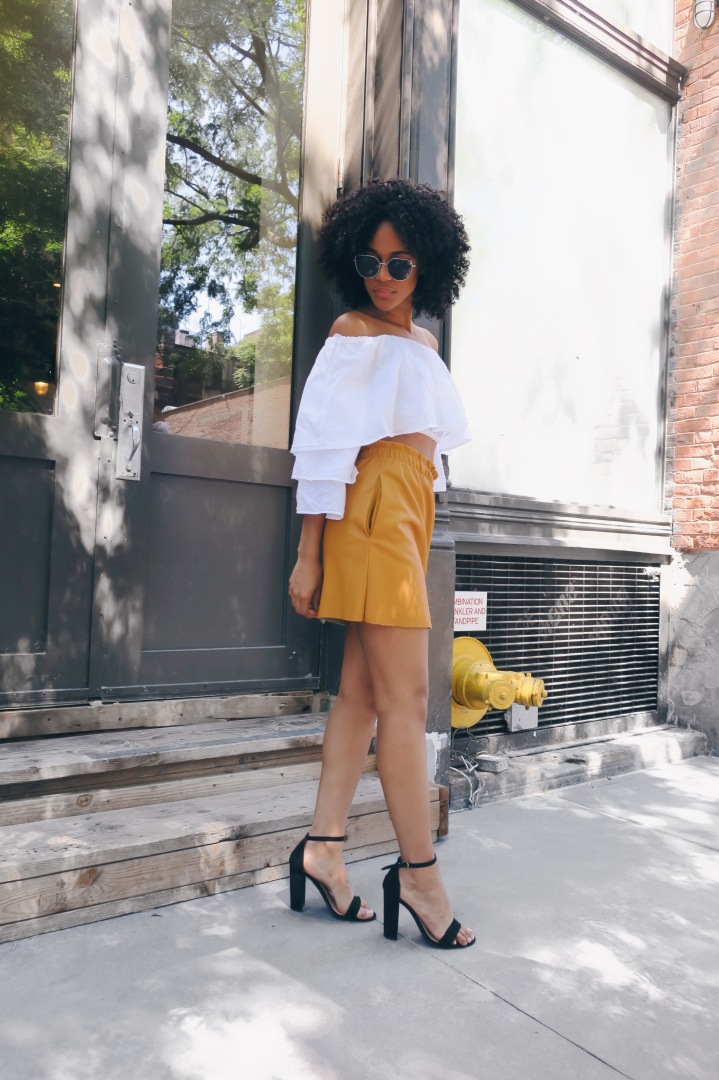 THE YELLOW SKIRT | OOTD