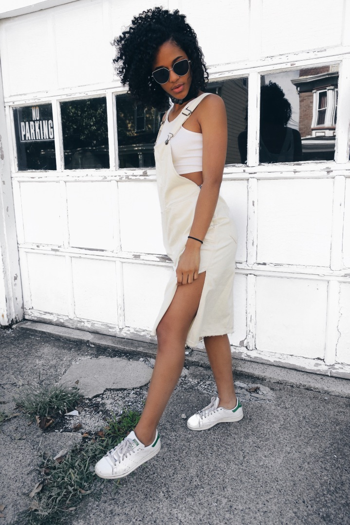 OFF WHITE OVERALL|OOTD