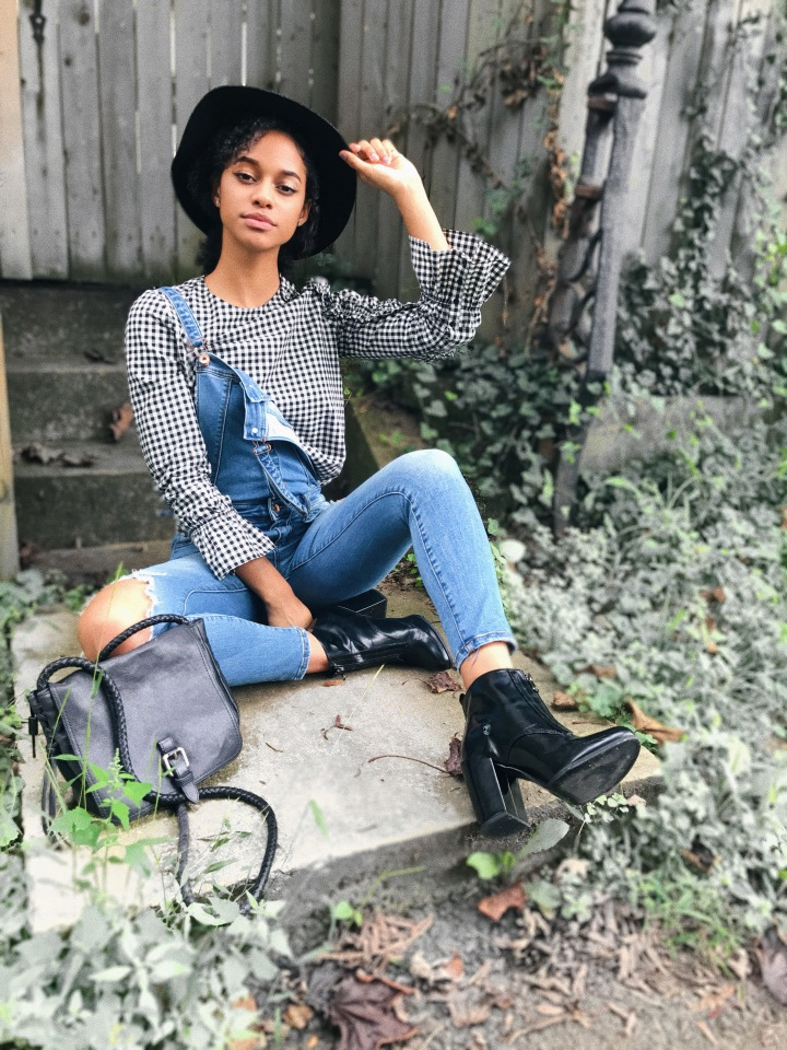 HOW TO TRANSITION YOUR CASUAL SUMMER JUMPSUIT FOR THEFALL!