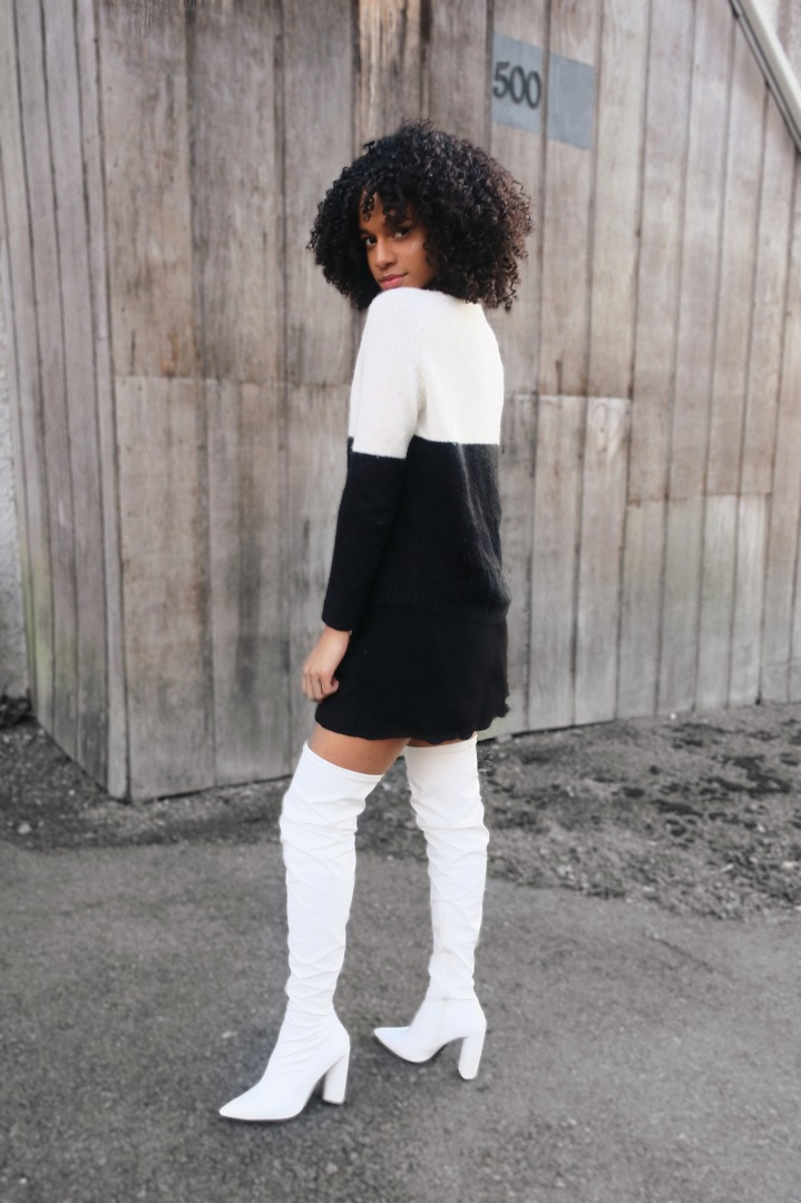 How To Style White Over The Knee Boots!
