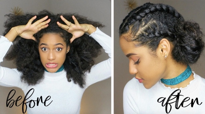 QUICK TWIST HAIRSTYLE ON DIRTY HAIR! *VIDEO*