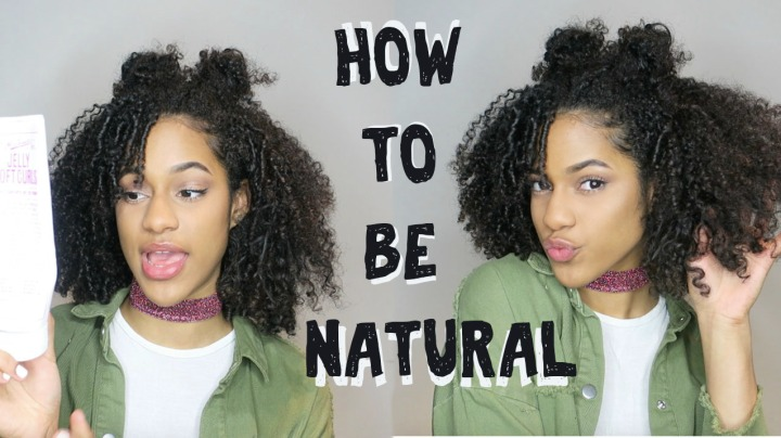HOW TO GO NATURAL (BEGINNERS)*VIDEO*